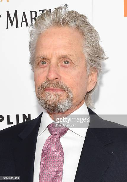 Actor Michael Douglas attends the 44th Chaplin Award Gala at David H Koch Theater at Lincoln Center on May 8 2017 in New York City