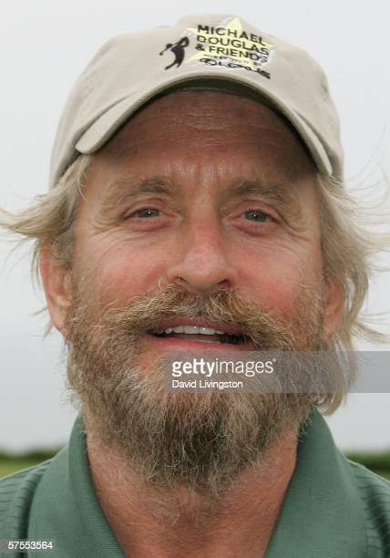 Actor Michael Douglas attends the 8th annual Michael Douglas Friends Golf Tournament presented by Lexus at the Trump National Golf Club on May 7 2006...