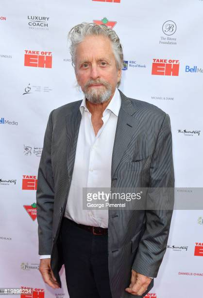 Actor Michael Douglas attends the Dave Thomas And The Second City Present 'Take Off EH' An AllStar Benefit For Jake Thomas And Spinal Cord Injury...