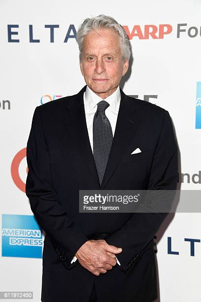 Actor Michael Douglas attends the MPTF 95th anniversary celebration with 'Hollywood's Night Under The Stars' at MPTF Wasserman Campus on October 1...