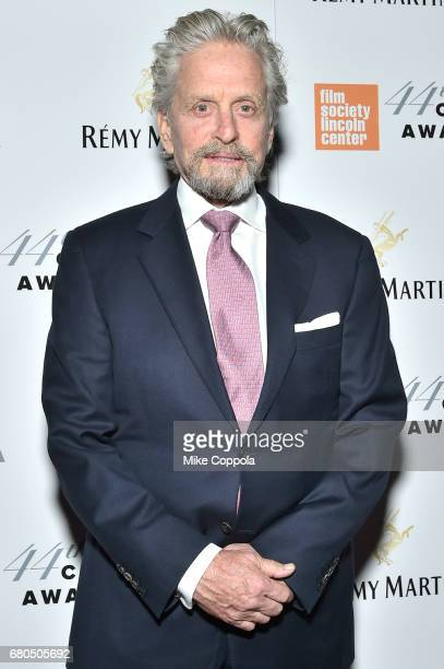 Actor Michael Douglas backstage during the 44th Chaplin Award Gala at David H Koch Theater at Lincoln Center on May 8 2017 in New York City