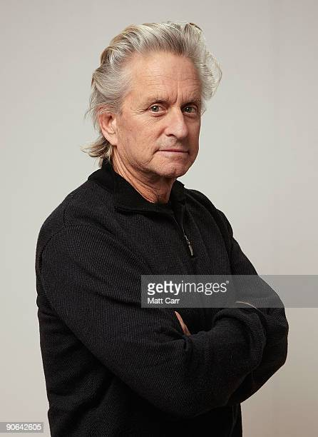 Actor Michael Douglas from the film 'Solitary Man' poses for a portrait during the 2009 Toronto International Film Festival at The Sutton Place Hotel...