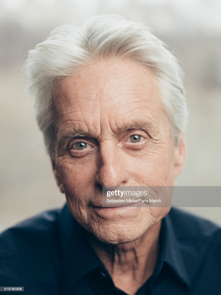 Michael Douglas, Paris Match Issue 3484, March 2, 2016