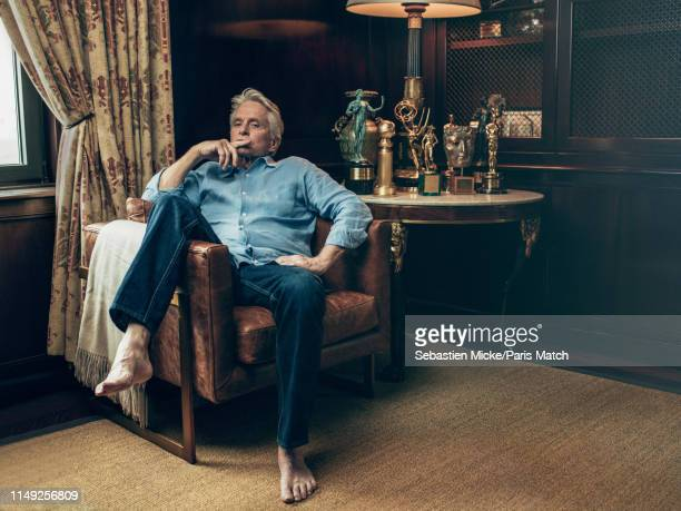 Actor Michael Douglas is photographed for Paris Match on May 30 2019 in New York City
