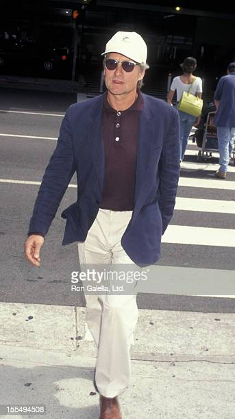 Actor Michael Douglas sighted on May 15 1997 at the Los Angeles International Airport in Los Angeles California
