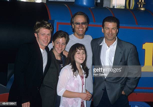 Actor Michael E Rodgers actor Cody McMains actress Mara Wilson actor Peter Fonda and actor Alec Baldwin atted the 'Thomas and the Magic Railroad'...