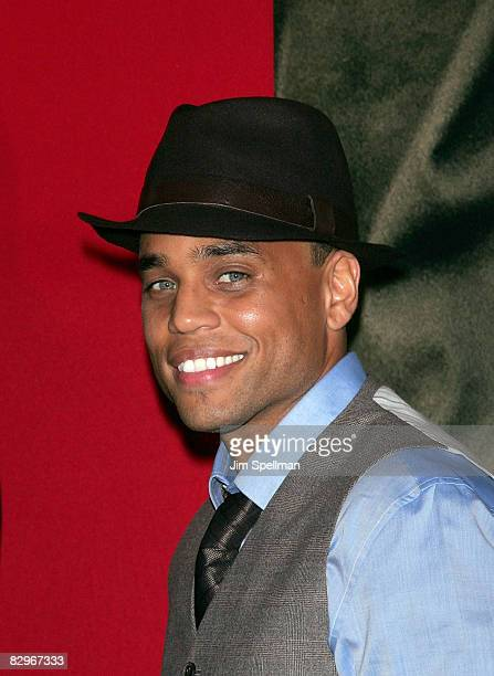 Actor Michael Ealy attends the premiere of Miracle at St Anna at Ziegfeld Theatre on September 22 2008 in New York City
