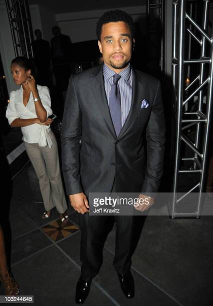 Actor Michael Ealy attends the 'Takers' Los Angeles Premiere after party held at Boulevard 3 on August 4 2010 in Hollywood California