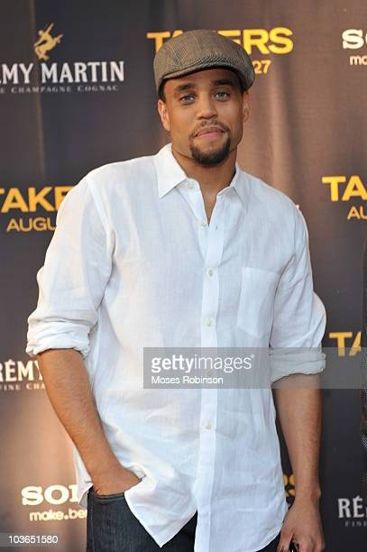 Actor Michael Ealy attends the Takers premiere at Regal Atlantic Station on August 24 2010 in Atlanta Georgia