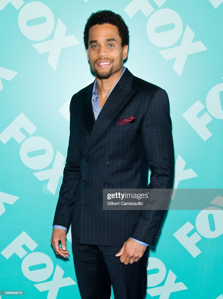 Actor Michael Ealy of 'Almost Human' attends the FOX 2103 Programming Presentation Post-Party at Wollman Rink - Central Park on May 13, 2013 in New York City.