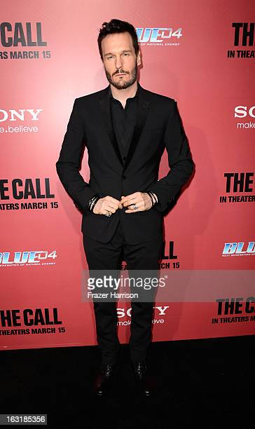 Actor Michael Eklund arrives at the premiere Of Tri Star Pictures' The Call at ArcLight Cinemas on March 5 2013 in Hollywood California