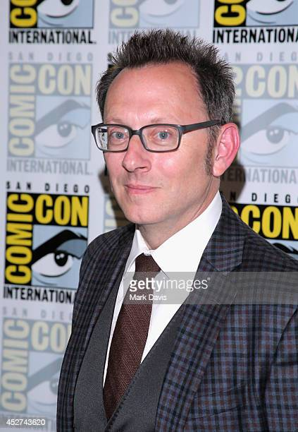 "Actor Michael Emerson attends ""Person of Interest"" Press Line during Comic-Con International 2014 at Hilton Bayfront on July 26, 2014 in San Diego,..."