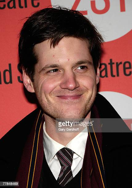 Actor Michael Esper arrives to the Peter and Jerry Opening Night at Second Stage Theatre on November 112007 in New York City