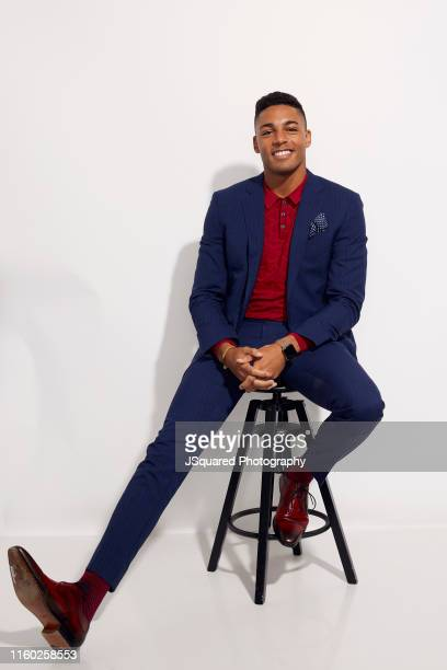 Actor Michael Evans Behling of The CW's 'All American' poses for a portrait during the 2019 Summer TCA Portrait Studio at The Beverly Hilton Hotel on...