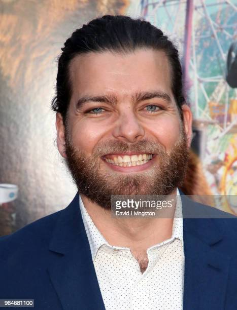 Actor Michael Everson attends the premiere of Paramount Pictures' 'Action Point' at ArcLight Hollywood on May 31 2018 in Hollywood California