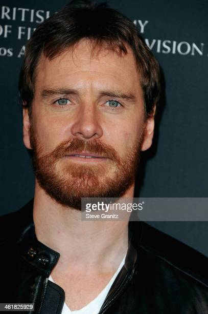 Actor Michael Fassbender arrives at the BAFTA Los Angeles Awards Season Tea Party at the Four Seasons Hotel Los Angeles at Beverly Hills on January...