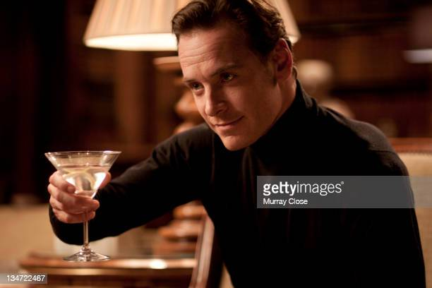 Actor Michael Fassbender as Erik Lehnsherr aka Magneto in a scene from the film 'XMen First Class' 2011