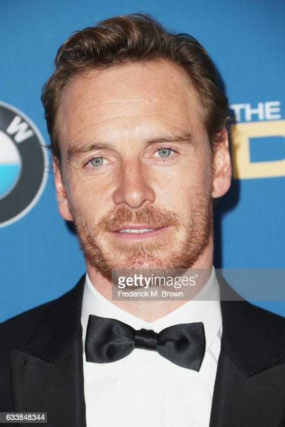 Actor Michael Fassbender attends the 69th Annual Directors Guild of America Awards at The Beverly Hilton Hotel on February 4 2017 in Beverly Hills...