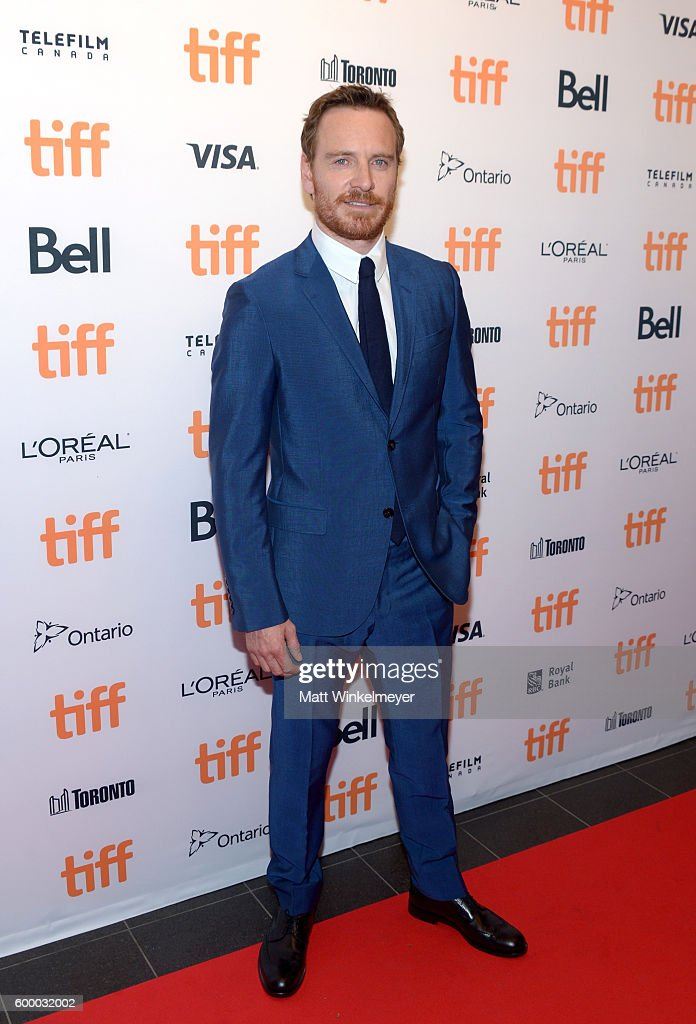 2016 Toronto International Film Festival - TIFF Soiree With Special Guest Michael Fassbender