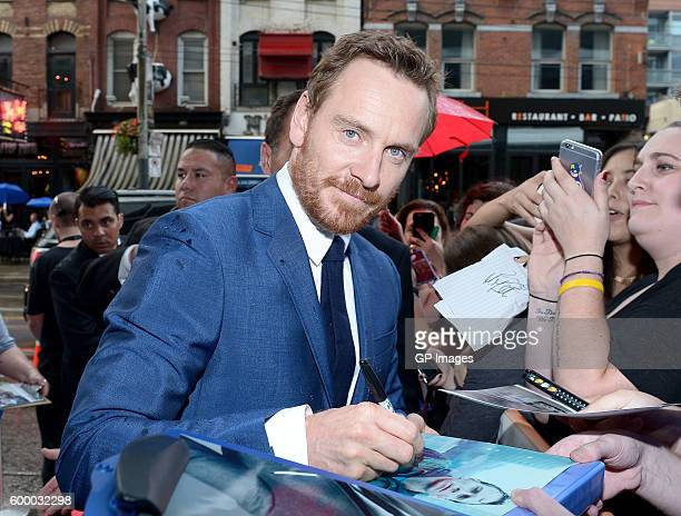 Actor Michael Fassbender attends the TIFF Soiree during the 2016 Toronto International Film Festival at TIFF Bell Lightbox on September 7 2016 in...