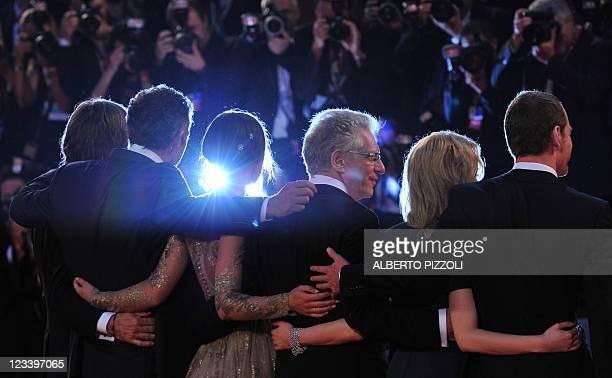 Actor Michael Fassbender, Canadian actress Sarah Gadon, Canadian film director David Cronenberg, British actress Keira Knightley, French actor...