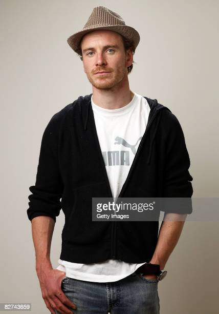 Actor Michael Fassbender from the film Hunger poses for a portrait during the 2008 Toronto International Film Festival at The Sutton Place Hotel on...
