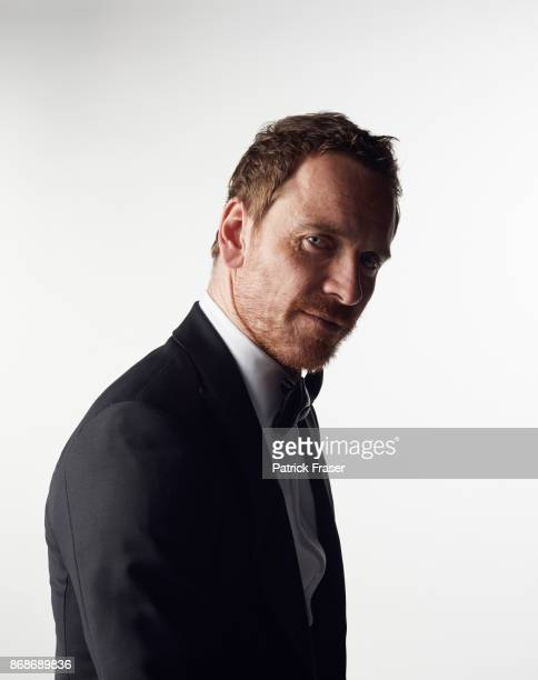 Actor Michael Fassbender is photogarphed for The Wrap on January 2 2016 in Palm Springs California