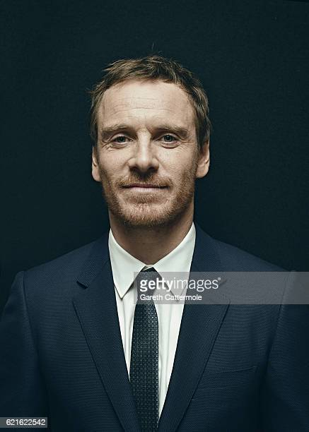 Actor Michael Fassbender is photographed during the 60th BFI London Film Festival on October 14 2016 in London England