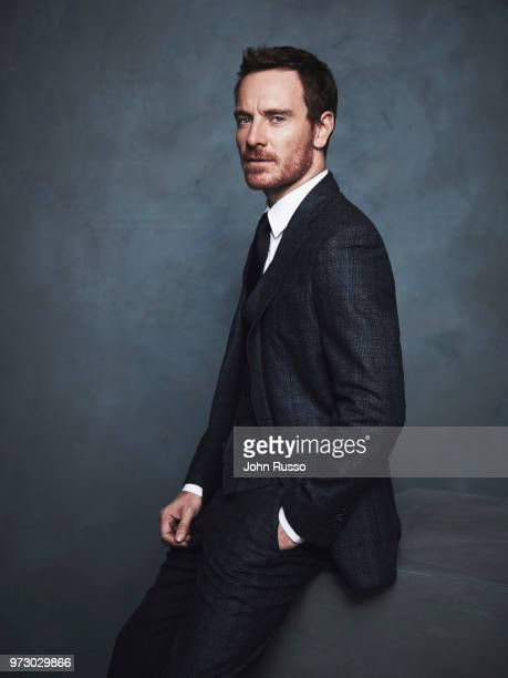 Actor Michael Fassbender is photographed for 20th Century Fox on October 13 2016 in Los Angeles California