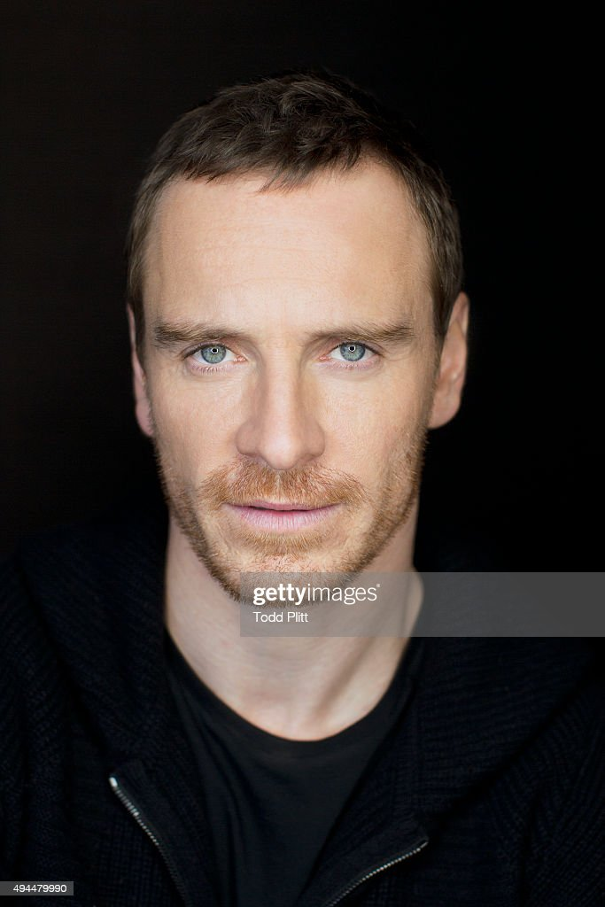Actor Michael Fassbender is photographed for USA Today on October 4, 2015 in New York City.