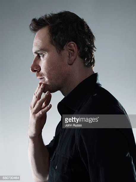 Actor Michael Fassbender is photographed in New York City