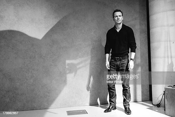 Actor Michael Fassbender poses for a portrait during the 2013 Toronto International Film Festival on September 7 2013 in Toronto Canada