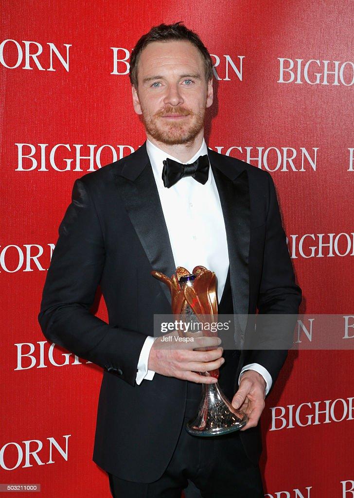 27th Annual Palm Springs International Film Festival Awards Gala - Backstage : News Photo