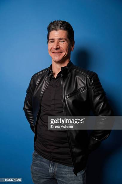"""Actor Michael Fishman of ABC's """"The Conners"""" poses for a portrait during the 2020 Winter TCA at The Langham Huntington, Pasadena on January 08, 2020..."""