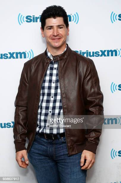 Actor Michael Fishman poses for photos during SiriusXM's Town Hall with the cast of Roseanne on March 27 2018 in New York City