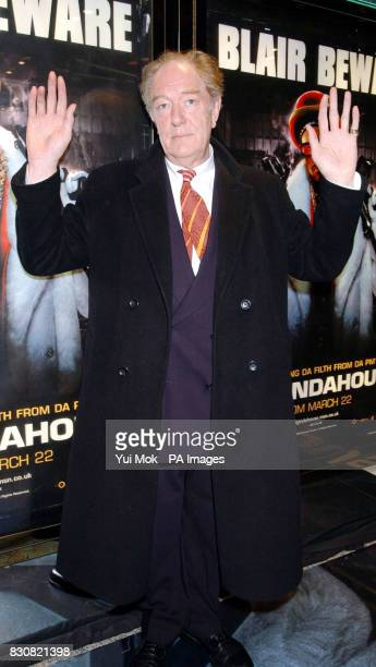 Actor Michael Gambon arriving at the Empire Cinema in London's Leicester Square for the premiere of Ali G InDaHouse MICHAEL GAMBON