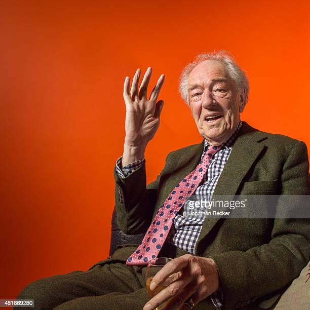 Actor Michael Gambon is photographed at the Charles Finch and Chanel's PreBAFTA on February 7 2015 in London England PUBLISHED IMAGE