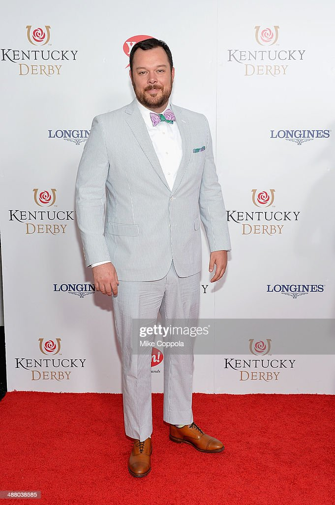 Actor Michael Gladis attends 140th Kentucky Derby at Churchill Downs on May 3, 2014 in Louisville, Kentucky.