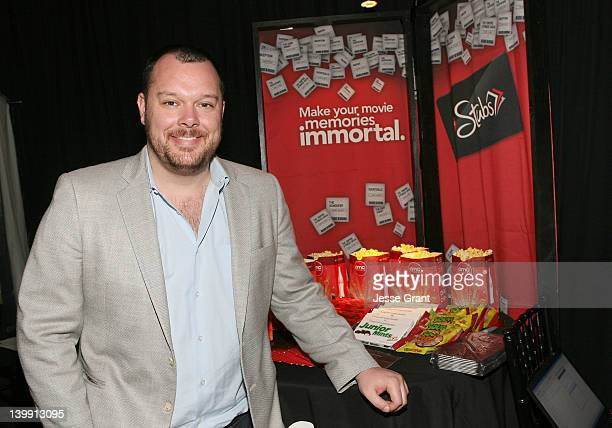 Actor Michael Gladis attends the Official Presenter Gift Lounge at the 2012 Film Independent Spirit Awards at Santa Monica Pier on February 25 2012...