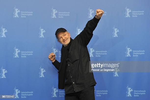 Actor Michael Gwisdek attends the 'Boxhagener Platz' Photocall during day five of the 60th Berlin International Film Festival at the Grand Hyatt...