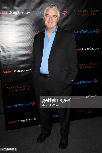 Actor Michael Harney attends the August Osage County benefit screening at the Landmark Theater on December 5 2013 in Los Angeles California