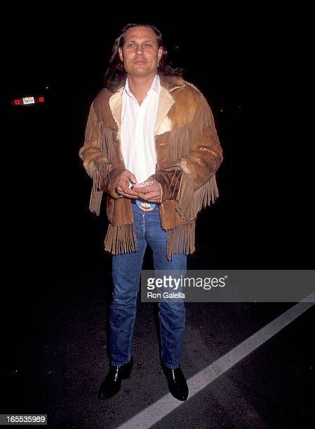 Actor Michael Horse attends the Sixth Annual IFP/West Independent Spirit Awards Nominations Announcement on January 14 1990 at the Occidental Studios...