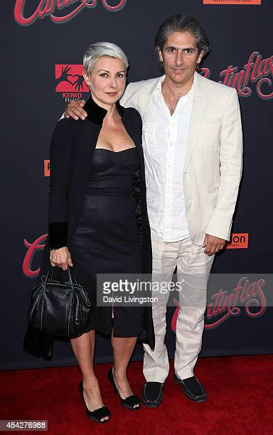 Actor Michael Imperioli and wife Victoria Imperioli attend the premiere of Pantelion Films' Cantinflas at the TCL Chinese Theatre on August 27 2014...