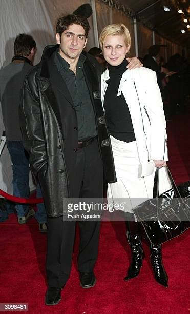 Actor Michael Imperioli anf wife Victoria arrive at the Rock Roll Hall Of Fame 19th Annual Induction Dinner at the Waldorf Astoria Hotel March 15...