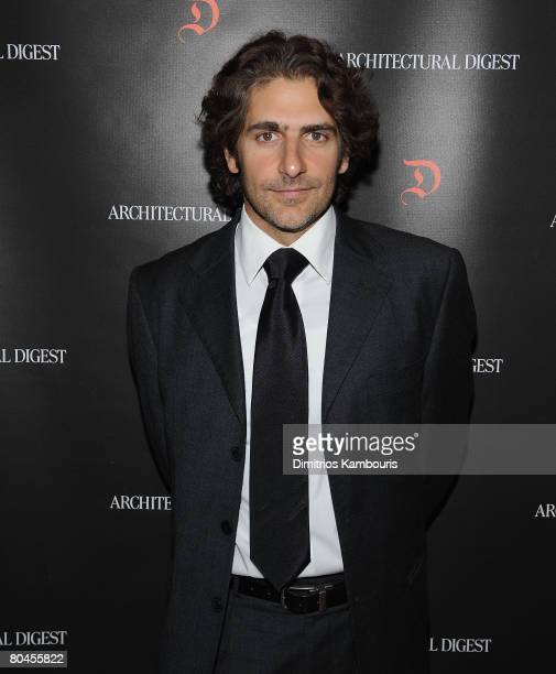 Actor Michael Imperioli arrives at the Studio Dante Benefit at The Rubin Museum of Art Sponsored by Architectural Digest on March 31 2008 in New York...