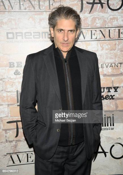 Actor Michael Imperioli attends day one of TAO Beauty Essex Avenue Luchini LA Grand Opening on March 16 2017 in Los Angeles California
