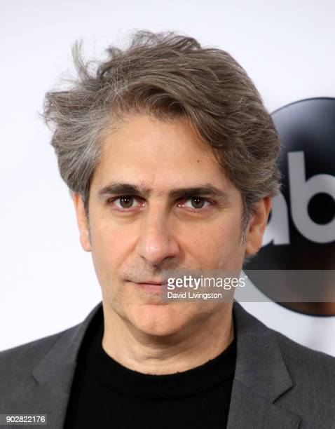 Actor Michael Imperioli attends Disney ABC Television Group's TCA Winter Press Tour 2018 at The Langham Huntington Pasadena on January 8 2018 in...
