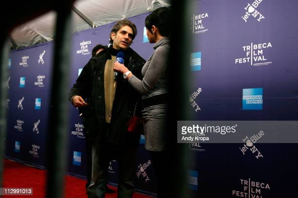 Actor Michael Imperioli attends the premiere of Stuck Between Stations during the 2011 Tribeca Film Festival at SVA Theater on April 22 2011 in New...