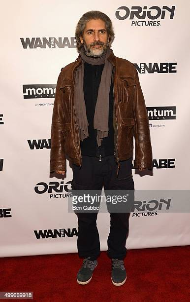 Actor Michael Imperioli attends The Wannabe New York premiere at Crosby Street Hotel on December 2 2015 in New York City