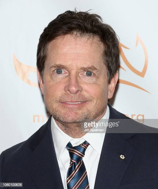Actor Michael J Fox attends A Funny Thing Happened on the Way to Cure Parkinson's 2018 at the Hilton New York on November 10 2018 in New York City